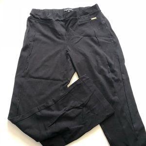 Ellen Tracy Stretch Black Dress Pants Large xl